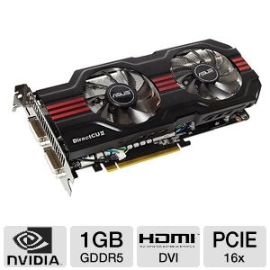ASUS DirectCU II Top GeForce GTX 560 Ti 1GB GDDR5