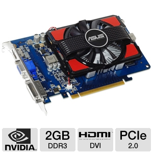Asus GeForce GT 630 2GB DDR3 Video Card