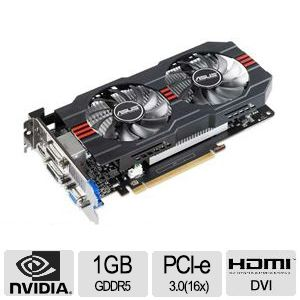 Asus GeForce GTX 650 Ti 1GB GDDR5 Video Card