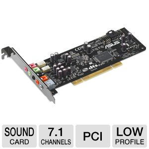 ASUS Xonar DS PCI Sound Card