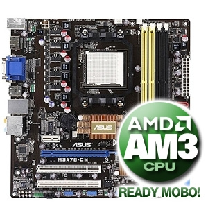 Asus M3A78-CM Motherboard
