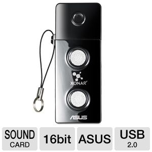 Asus Xonar U3 Sound Card