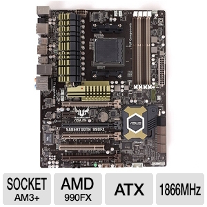 ASUS Sabertooth 990FX TUF series 5 year warranty