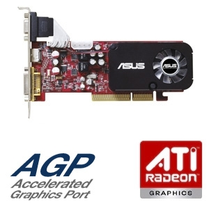 ASUS Radeon HD 3450 512MB DDR2 AGP Video Card