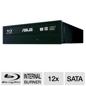 Asus Internal SATA 12x Blu-Ray Burner