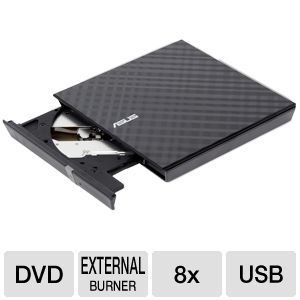 ASUS 8X External DVD Burner with USB 2.0 REFURB