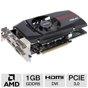 Asus AMD Radeon HD 7770 1GB GDDR5 Video Card