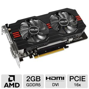 Asus Radeon HD 7770 2GB GDDR5 Video Card