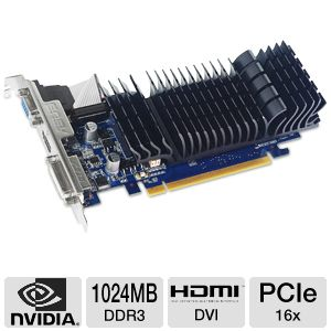 Asus GeForce 8400 GS Silent Video Card REFURB