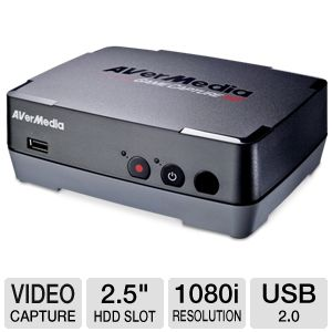 AVerMedia MTVGCAPHD Game Capture HD Capture Box