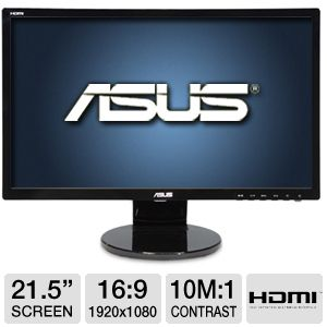 "ASUS VE228H 21.5"" Widescreen HD LED Monitor"