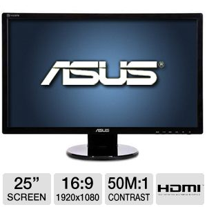 "ASUS VE258Q 25"" Class LED Backlit Monitor"