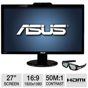 "ASUS VG278H 27"" Class Widescreen 3D LED Monitor"
