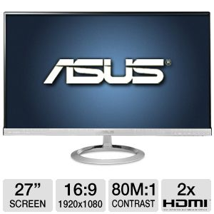 ASUS 27 Class LED AH-IPS Frameless Monitor