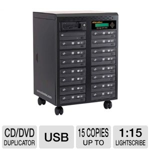 Aleratec 1:15 Lightscribe CD/DVD Duplicator