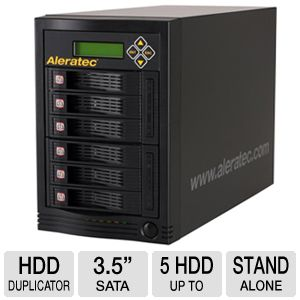 Aleratec 350104 1:5 Hard Drive Duplicator