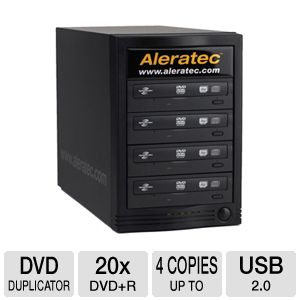Aleratec 260170 1:4 Lightscribe CD/DVD Duplicator