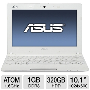 "ASUS Eee PC 10.1"" Atom 320GB HDD Netbook"