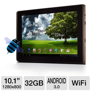 ASUS TF101B1 Eee Pad Transformer Android Tablet