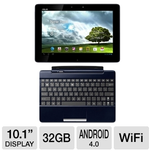 ASUS TF300T 10.1&quot; 32GB Android 4.0 Tablet Bundle