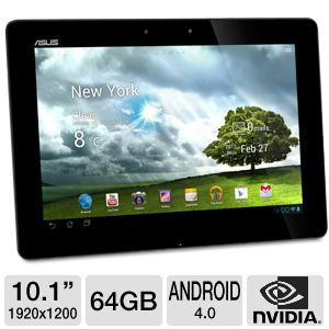 ASUS 10.1&quot; TF700T 64GB Android 4.0 FULL HD Tablet