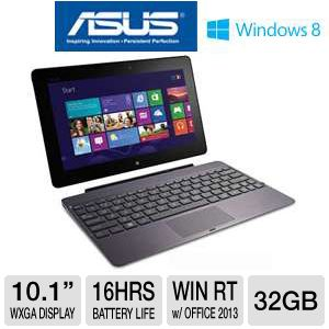 "ASUS TF600 10.1"" 32GB Windows 8 RT Tablet Bundle"