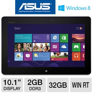 "ASUS TF600 10.1"" 32GB Windows 8 RT Tablet"