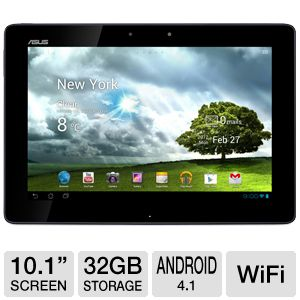 "ASUS Transformer 10.1"" Android 4.0 32GB LTE Tablet"