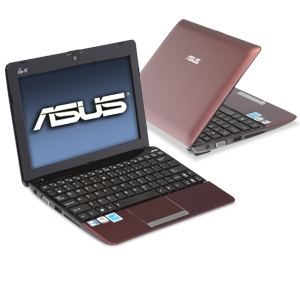 ASUS Eee PC 1015PEM-MU17-RD Red Netbook