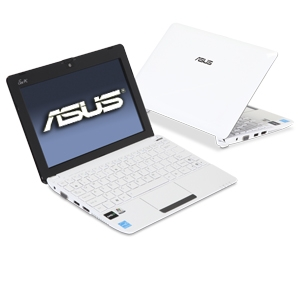 ASUS Eee PC 1015T-MU17-WT White Netbook