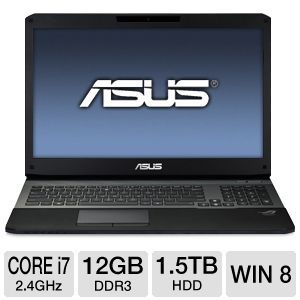 ASUS ROG G75W 17.3&quot; Core i7 1.5TB Notebook
