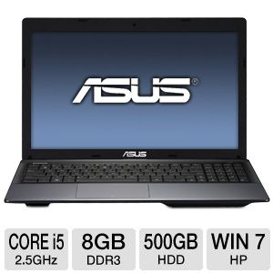 "ASUS R500A 15.6"" Core i5 500GB Notebook"