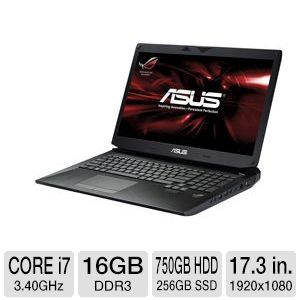 Asus Notebook - Core i7, 16GB, 17.3""