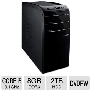 ASUS Core i5 2TB HDD Desktop PC REFURB