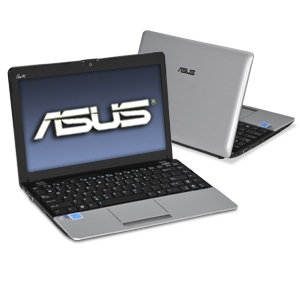 ASUS Eee PC 1215P-MU17-SL Silver Netbook