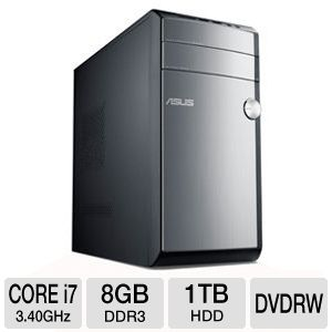 ASUS 3rd Gen Core i7 1TB Desktop PC