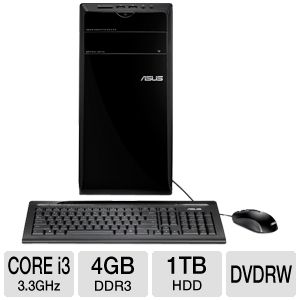 ASUS Core i3 4GB/1TB HDD Desktop