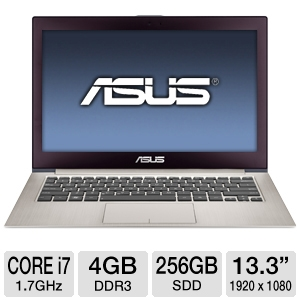 ASUS 13.3&quot; Core i7 256GB SSD Laptop