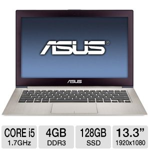 ASUS 13.3&quot; Core i5 4GB/128GB SSD Ultrabook