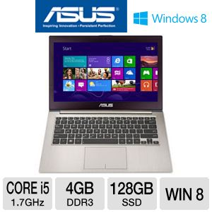 "ASUS ZENBOOK 13.3"" Core i5 128GB SSD Ultrabook"
