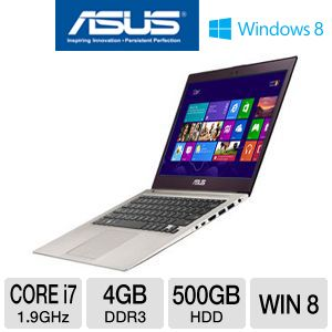 "ASUS ZENBOOK 13.3"" Core i7 500GB HDD Ultrabook"