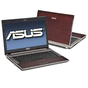 ASUS U43JC-A1 14&quot; Bamboo Brown Laptop