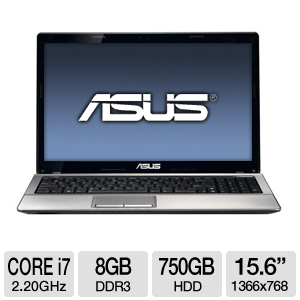 "ASUS A53SD-TS72 15.6"" Silver Notebook"