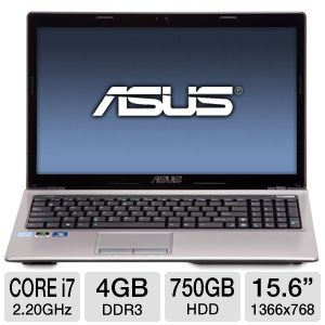 ASUS Core i7 4GB/750GB NVIDIA GT 610M Laptop