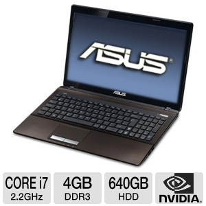 "ASUS A53SV-TH71 15.6""  Black Laptop"