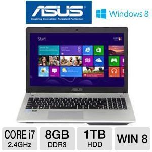 "ASUS N56VJ 15.6"" Core i7 1TB HDD Laptop"