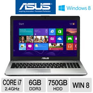 "ASUS N56VJ Core i7 6GB/750GB GT635M 15.6"" Laptop"
