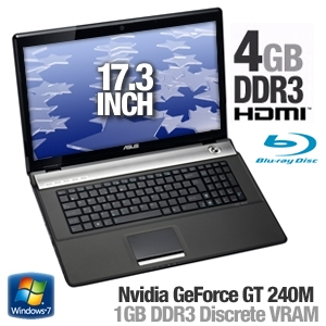 Asus N71Vn-X1 Notebook