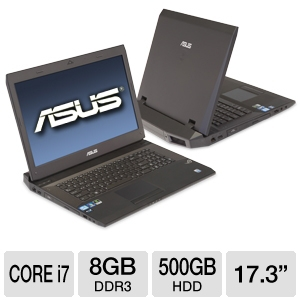 "ASUS G73SW-XT1 17.3"" Black Laptop REFURB"