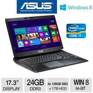 "Asus G750JH 17.3"" Gaming Notebook"